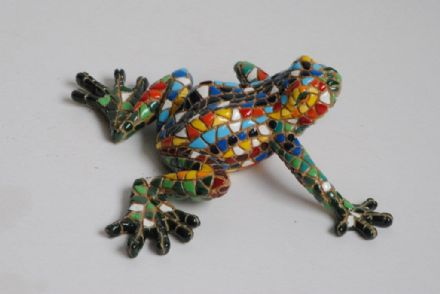 Barcino Designs Sitting Frog 09362